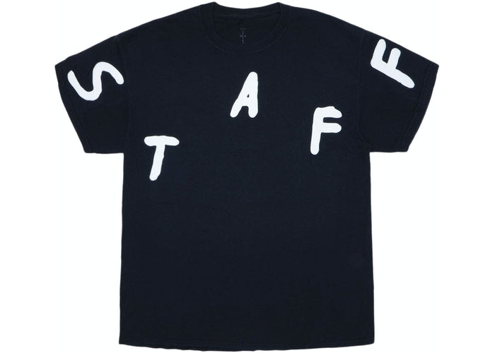 Travis Scott Astrofest Staff 2019 Tee Black