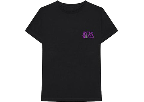 Travis Scott Astroworld RIP DJ Screw Tee Black
