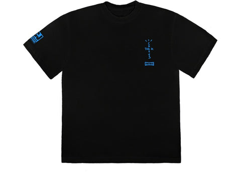 Travis Scott CJ Portal T-Shirt Black