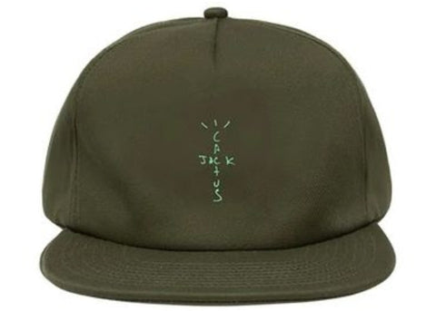 Travis Scott Jordan Cactus Jack Highest Hat Olive