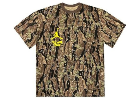 Travis Scott Jordan Cactus Jack Highest T-Shirt Camo