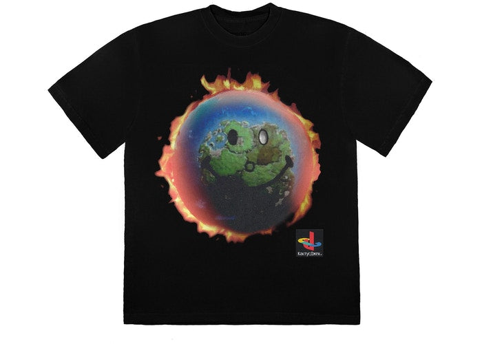 Travis Scott The Scotts World T-Shirt Black