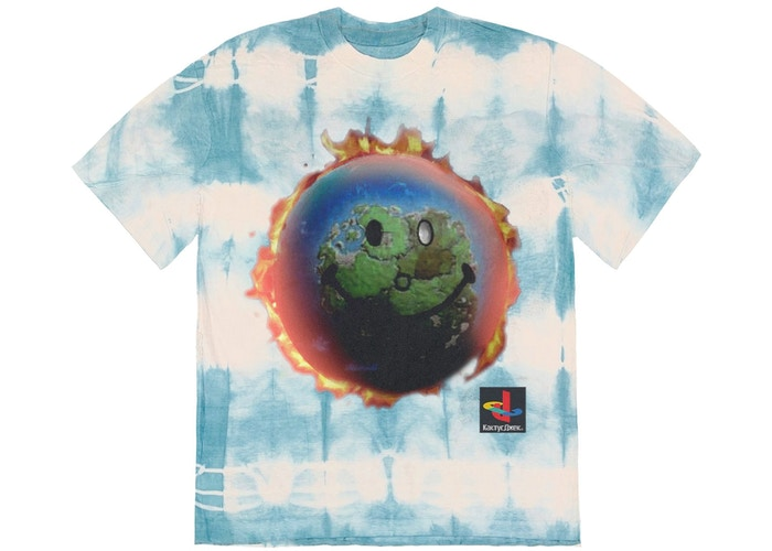 Travis Scott The Scotts World Tie Dye T-Shirt Tie Dye