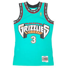 Vancouver Grizzlies Shareef Abdur Rahim Mitchell & Ness Throwback Jersey