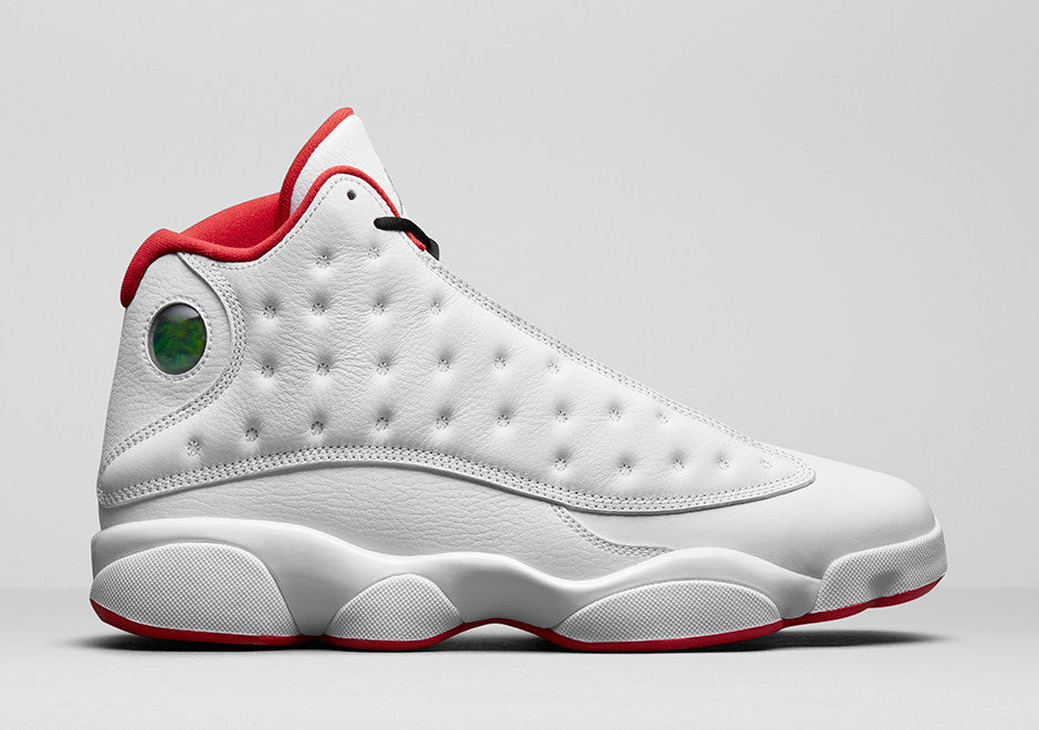bee123a1160044 Air Jordan Retro 13 History of Flight – The Heat Check