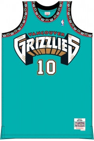 Mike Bibby Grizzlies Mitchell & Ness Kids Throwback Jersey
