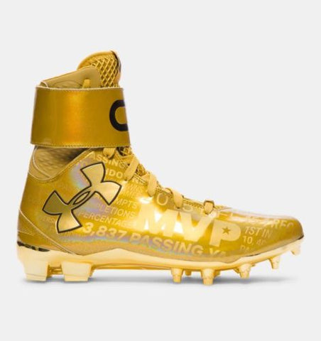 Under Armour C1N Cam Newton MVP Autographed Cleats