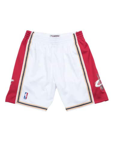 Cleveland Cavs White Swingman M&N Shorts