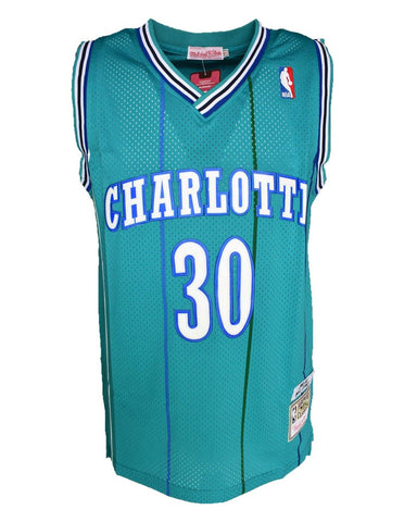 Charlotte Hornets Dell Curry Mitchell & Ness Throwback Jersey