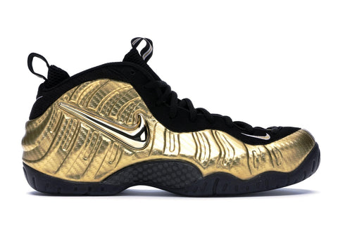 Air Nike Foamposite Pro Metallic Gold