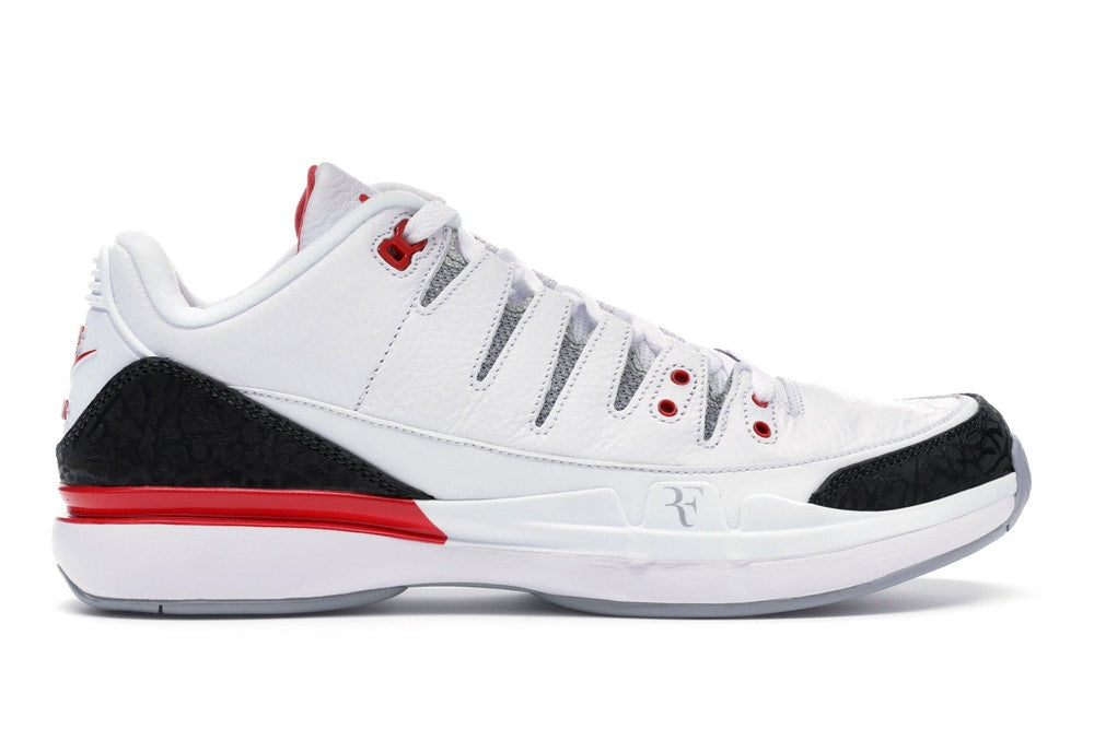 Nike Zoom Vapor AJ3 Fire Red .
