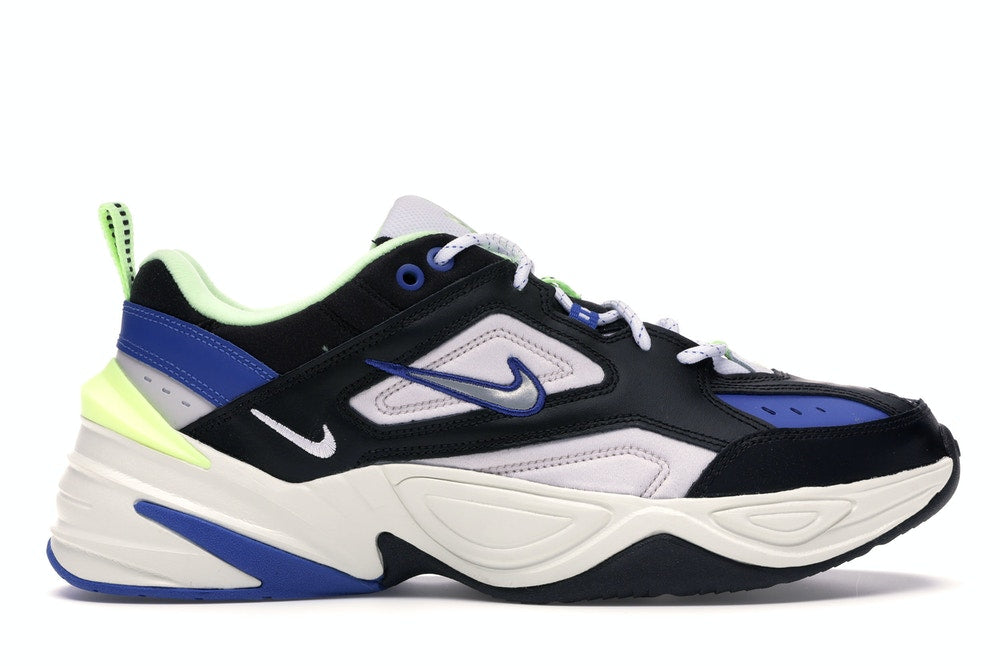 Nike M2K Tekno Black Royal Volt