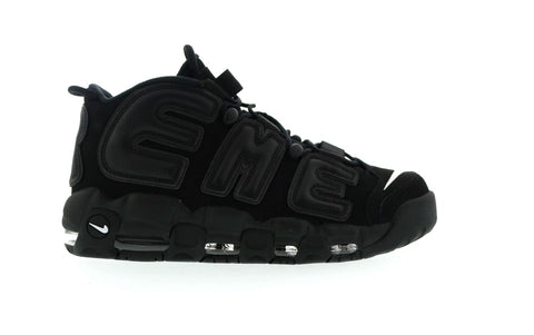 "Nike Air More Uptempo Supreme ""Suptempo"" Black"
