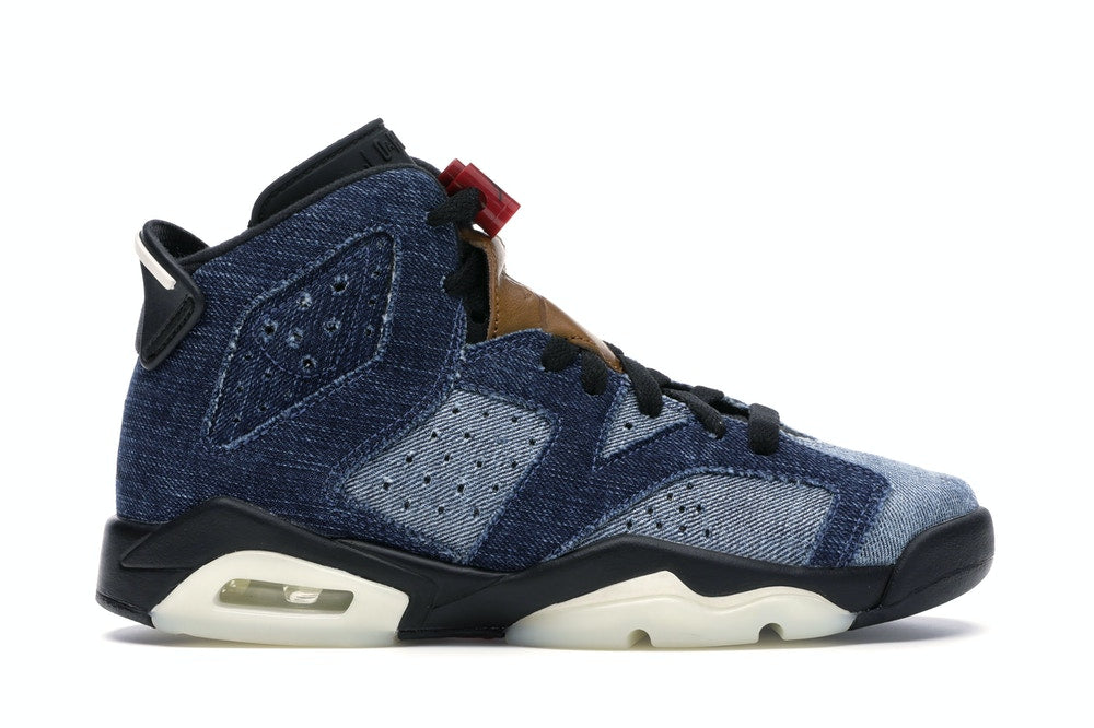 Jordan 6 Retro Washed Denim (GS)