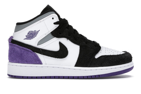 Jordan 1 Mid SE Purple (GS)