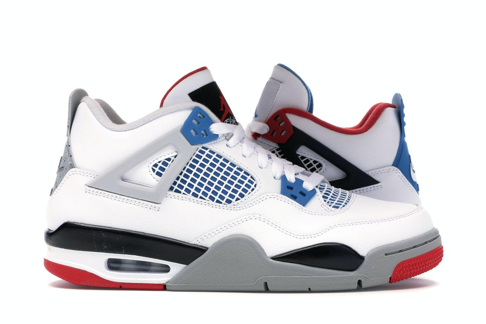 JORDAN 4 RETRO WHAT THE (GS)