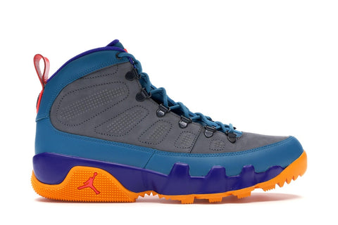 Air Jordan 9 Retro Boot Green Abyss