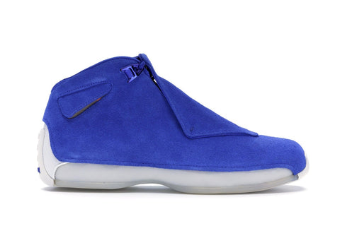 Air Jordan 18 Retro Racer Blue .