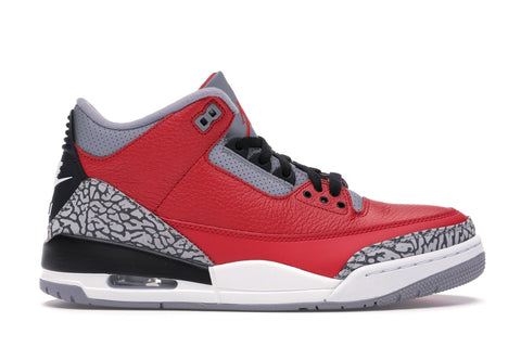 Air Jordan 3 Retro Fire Red Cement GS (Nike Chi)