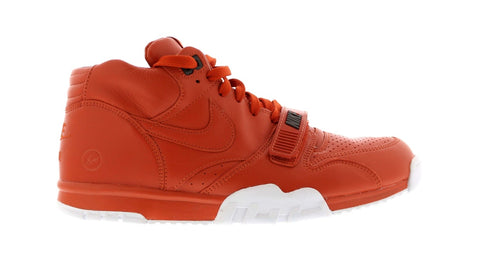 Nike Air Trainer 1 Fragment Design Rust .