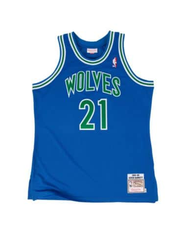 Kevin Garnett Minnesota Timberwolves Mitchell & Ness Throwback Jersey