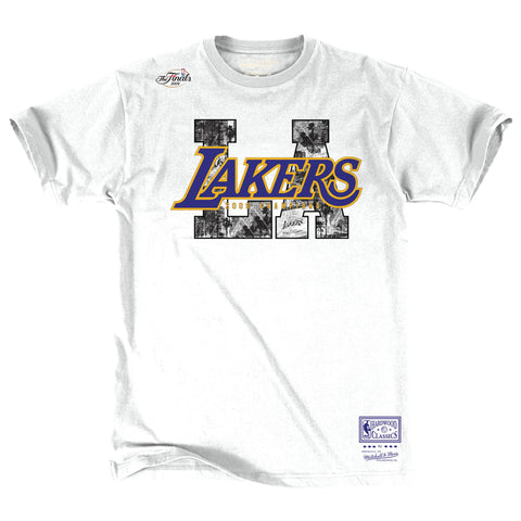 Mitchell & Ness City SS Tee Los Angeles Lakers