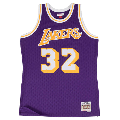 Los Angeles Lakers Magic Johnson M&N Swingman Jersey