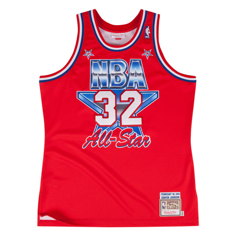 1991 All Star Magic Johnson Mitchell & Ness Swingman Jersey