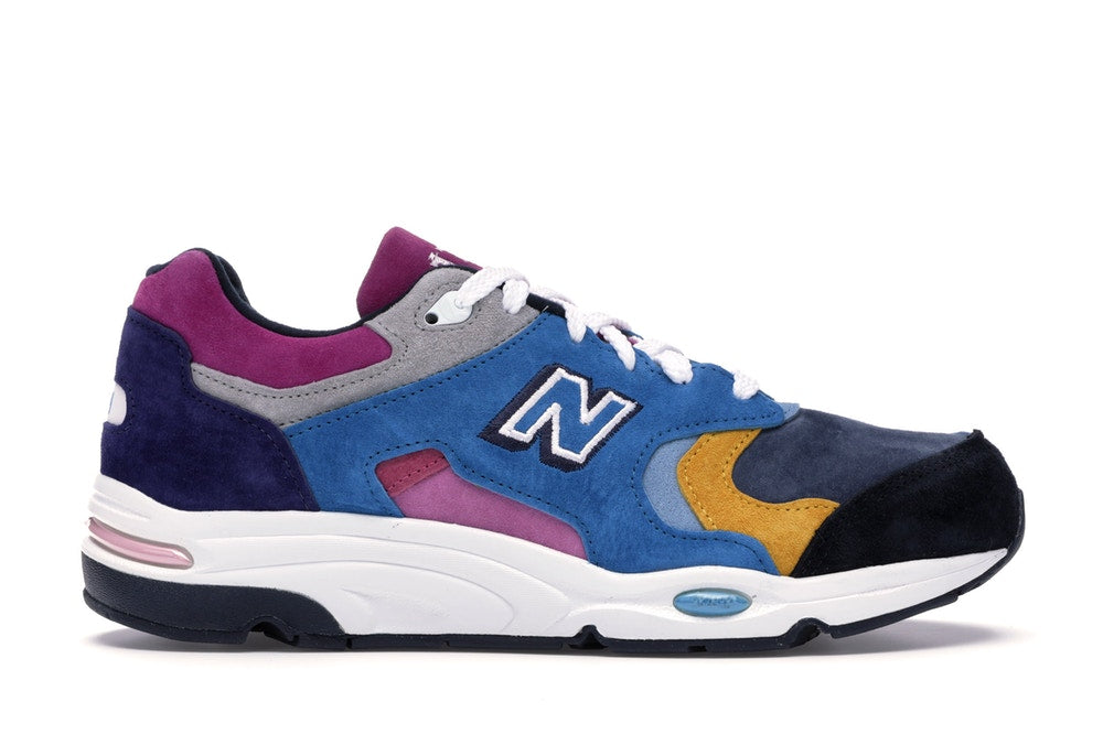New Balance 1700 Kith The Colorist Blue Toe