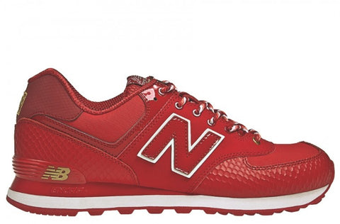 New Balance 574 Year of the Snake Red
