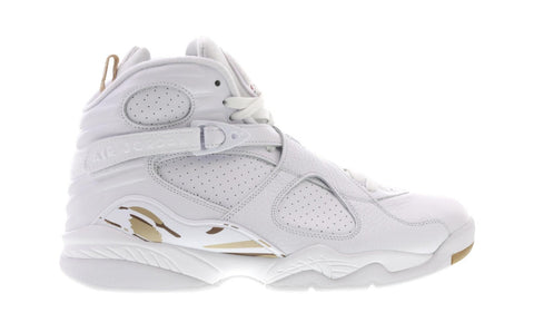 Air Jordan Retro 8 Ovo White