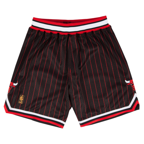 Chicago Bulls Pinstripe Swingman M&N Shorts