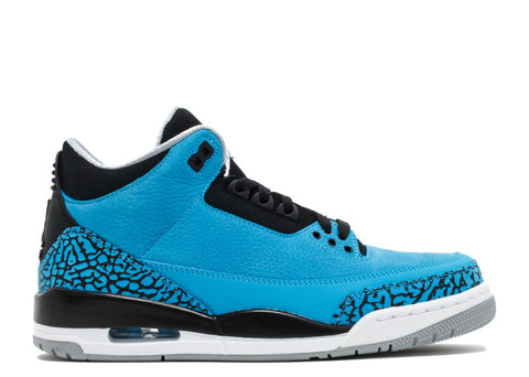 Air Jordan Retro 3 Powder Blue