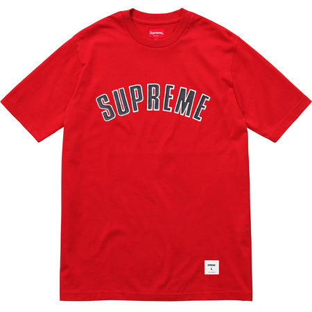 Supreme Printed Arc S/S Top Red