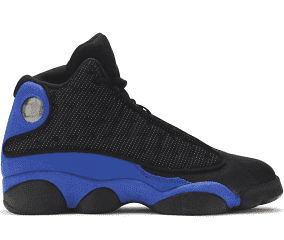Jordan 13 Retro Black Hyper Royal (GS)