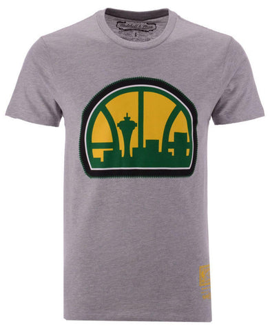 Mitchell & Ness NBA Zig Zag SS Tee SuperSonics