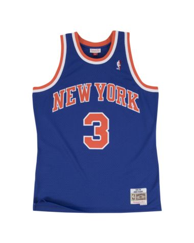 John Starks New York Knicks Mitchell & Ness Swingman Jersey