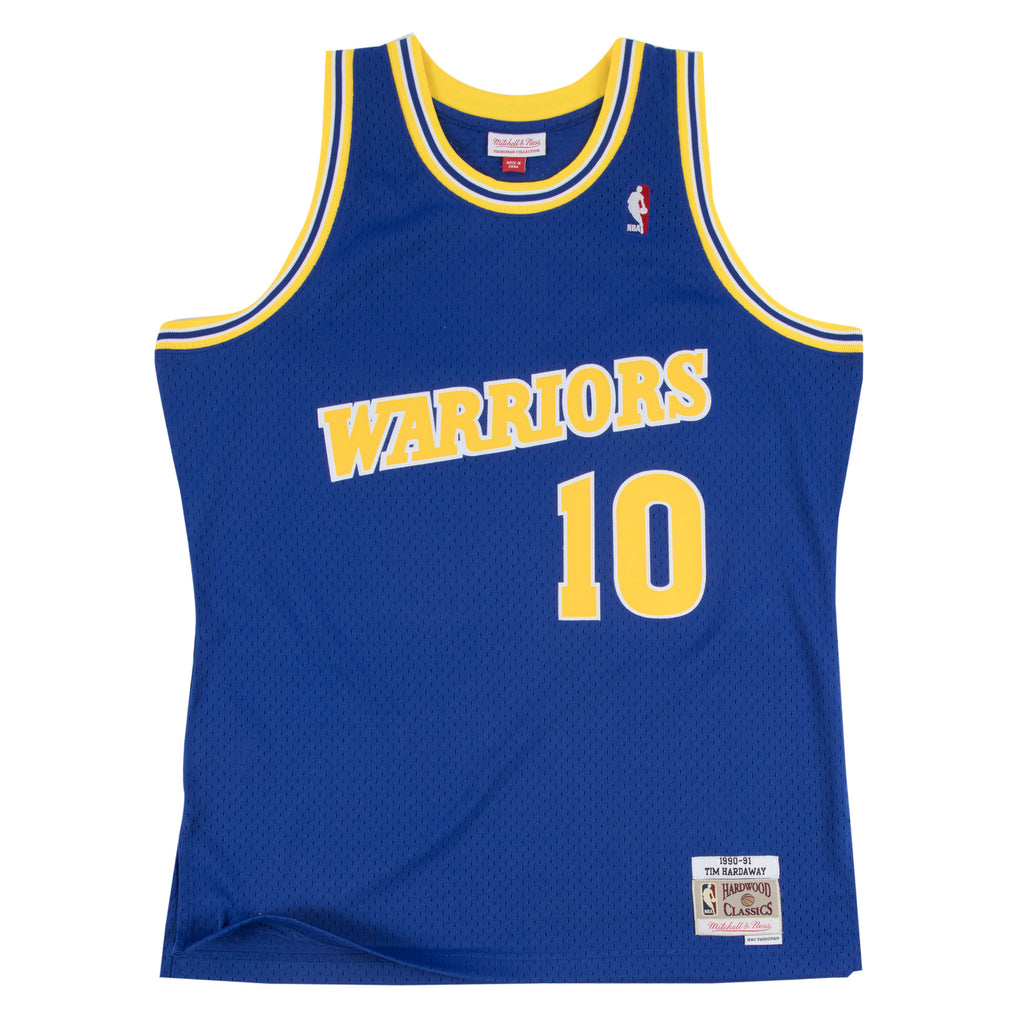 Golden State Warriors Tim Hardaway M&N Swingman Jersey