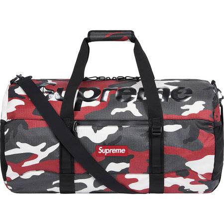 Supreme Duffle Bag (SS21) Red Camo