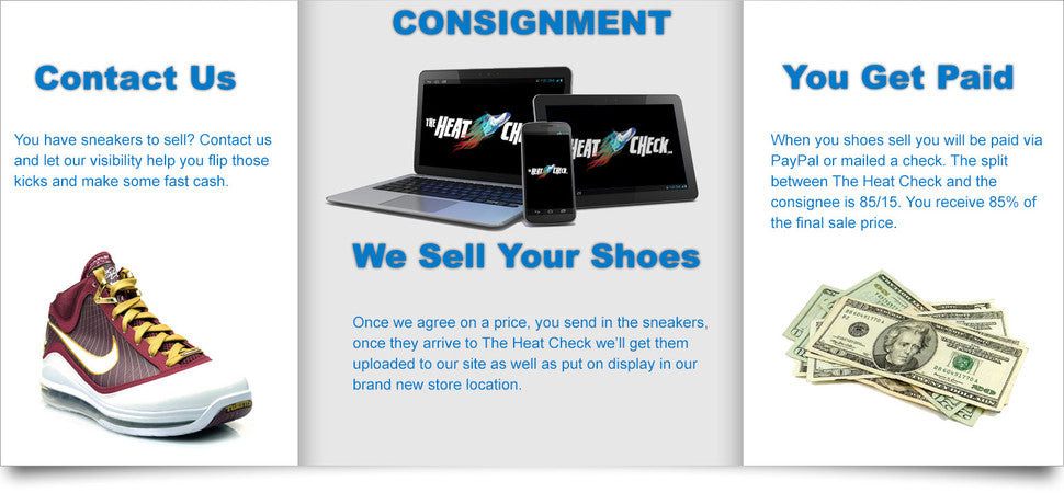 The Heat Check - Sneaker Consignment