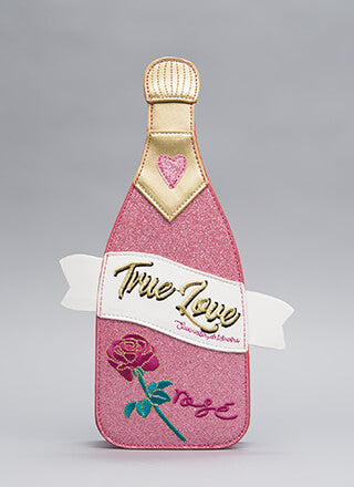 TRUE LOVE CHAMPAGNE BOTTLE BAG