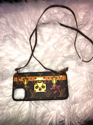 LV Locket Purse Phone Case