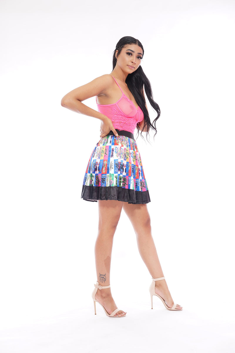 Versace Skirt Colorblock (Short)