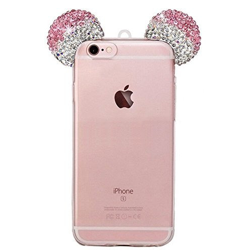 Mickey Bling Ears Iphone Case