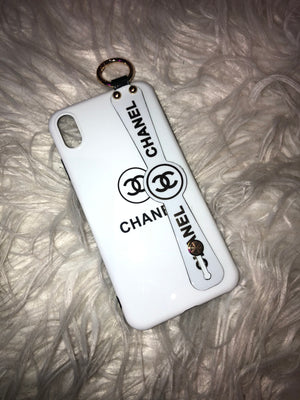 White CC Phone Case