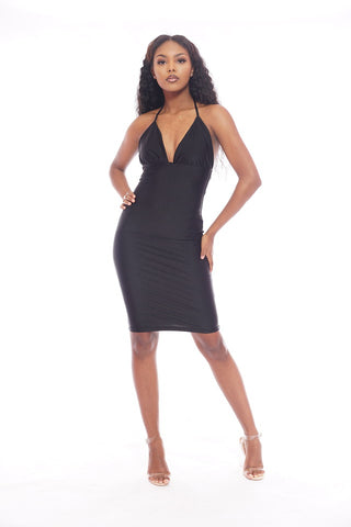 Black Mesh Scrunch Skirt Set