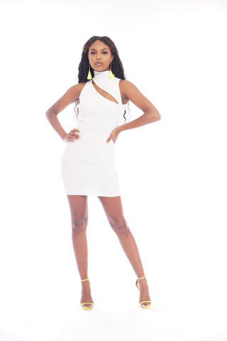 White Corest Dress