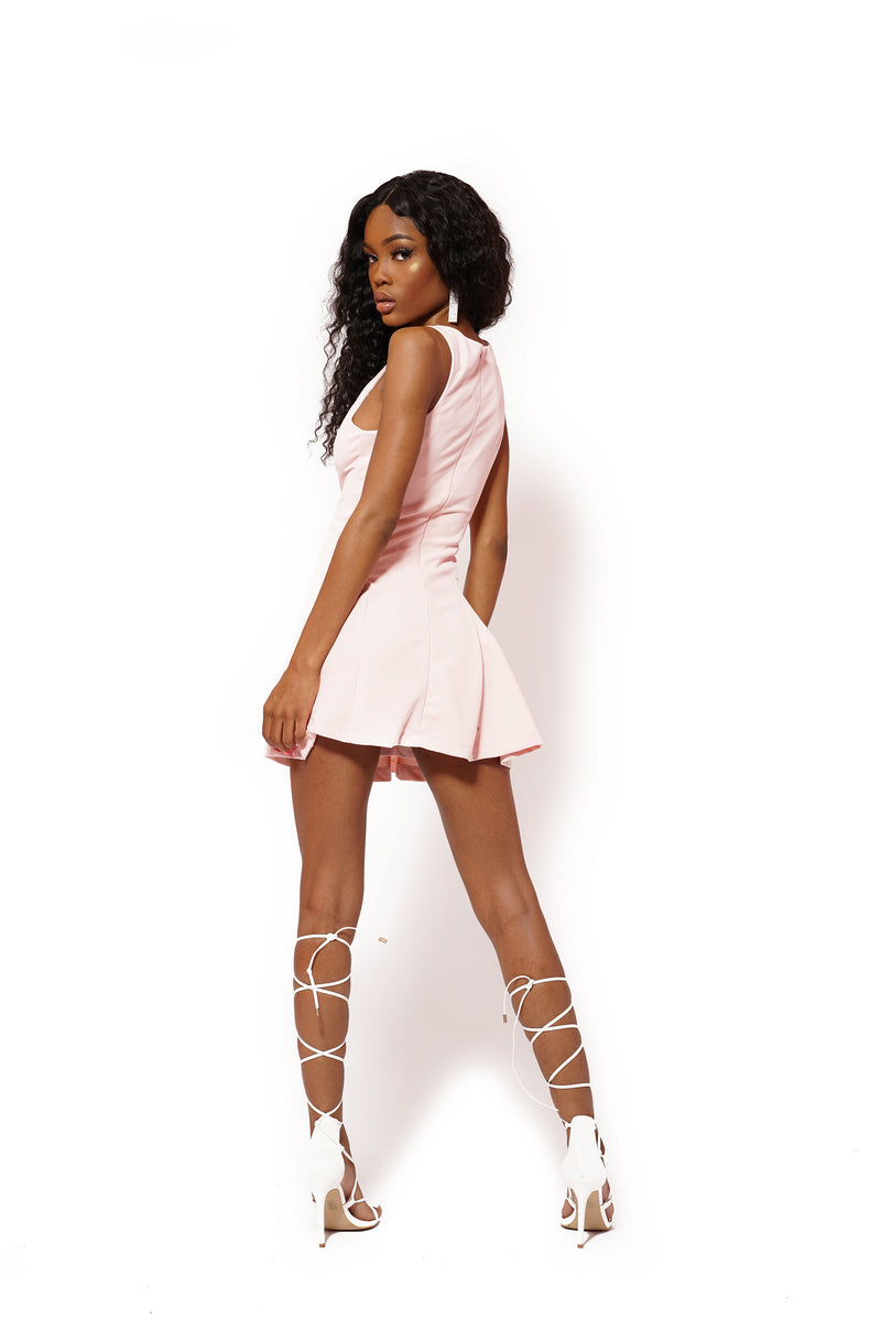 GO PINK DAY DRESS