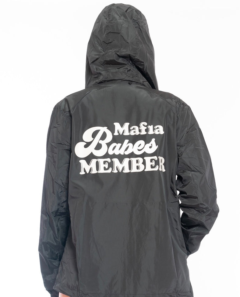 EXCLUSIVE MAFIA BABES MEMBER WINDBREAKER JACKET