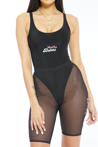 CUPCAKE MAFIA ROSE SPORT BLACK TOP
